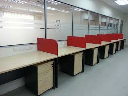 working table with hanging divider partition board a 2 z office