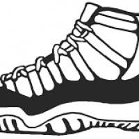 basketball shoes clipart clipart ideas u0026 reviews