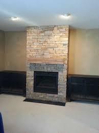 house fireplace fireplace refacing stone a better stone company