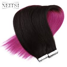 Ombre Hair Extensions Tape In by Popular Ombre Hair Extensions Tape In Buy Cheap Ombre Hair