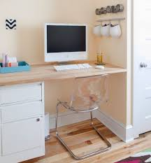 Narrow Desks For Small Spaces Desk Narrow Desk With Drawers
