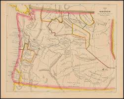 A Map Of Oregon by 1852 Map Of Oregon Territory Indian Country Tree Oathe Fresh