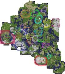 Runescape World Map by Minecraft And Server Info U2022 The Village