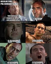 Never Meme - never go 5 scoops for the sake of us bodybuilding meme fitness