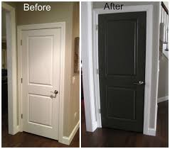 interior doors for home painted interior door ideas what color to paint interior doors home