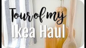 ikea haul farmhouse decor bedding kitchen items 2018 part