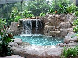 Waterfall Landscaping Ideas Patio Waterfall Fountains