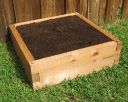 Cedar Raised Garden Bed Raised Garden Bed Etsy