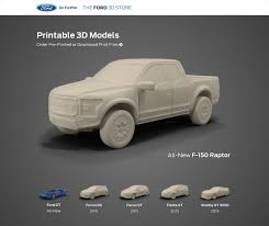 printable ford 3d models available in new online store street muscle