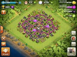 coc layout builder th8 clash of clans hybrid base
