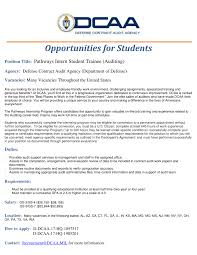 Usajpbs Opportunities With Defense Contract Audit Agency U2014 Gw Veterans