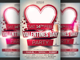 valentines flyer template valentines day flyer template by christos andronicou dribbble