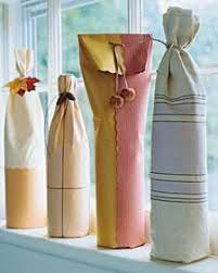 gift wrapping wine bottles how to wrap a wine bottle this is so simple and pretty