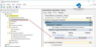 set powershell execution policy with group policy vgeek tales