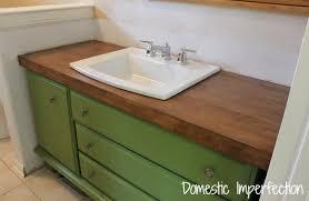 wood bathroom vanity top bathrooms