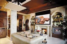 Kitchen Fireplace Design Ideas by Living Room Living Room With Tv Above Fireplace Decorating Ideas