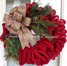 burlap christmas wreath fall burlap wreath idea a buck a burlap