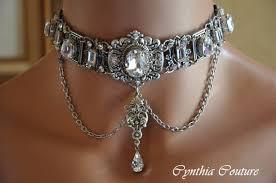 vintage chokers necklace images Bridal choker necklace art deco choker vintage style necklaceday jpg