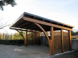 struttura in legno per tettoia carport in legno prezzi id礬es de design d int礬rieur