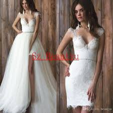 discount over skirt lace a line wedding dresses with puffy