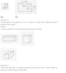 ncert solutions for class 7th maths chapter 15 u2013 visualising solid