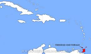 where is and tobago located on the world map where is and tobago located on the world map