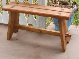 Stronger Bench How To Build A Strong Mortise And Tenon Bench Feltmagnet