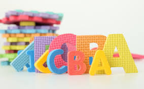 Wallpaper Children Wallpaper Letters Toys Learning Children Colorful Hd Picture