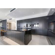 kitchen top cabinet hs code modular furniture design matt black modern kitchen cabinets with marble top