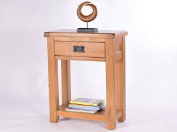Hallway Table With Drawers Amazing Of Narrow Oak Console Table With Narrow Hall Table With