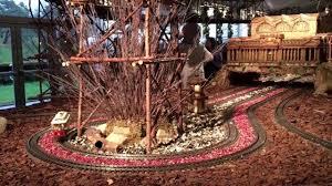 new york botanical garden holiday train show youtube