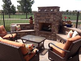 Arizona Backyard Landscaping by Backyard Landscape Ideas With Fire Place Cozy Up Outdoor