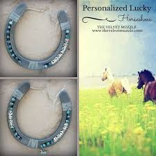 personalized horseshoes 89 best horseshoe crafts images on horseshoe