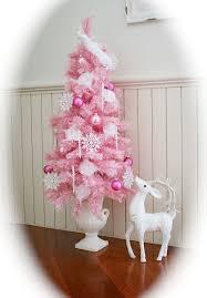 small pink christmas tree pink christmas tree mini greeting season greetings wishes happy