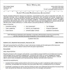 Sample Resume For Accountant by Sample Cpa Resumes Resume Cv Cover Letter Resume Formatting