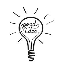light bulb idea vector 1109488 by strejman on vectorstock