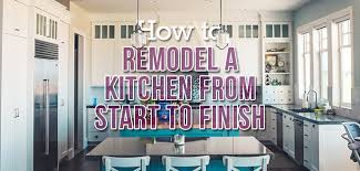 how to make your own kitchen cabinets step by step 6 steps for remodeling your kitchen budget dumpster