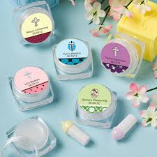 lip balm favors personalized christening lip balm favors gift baskets