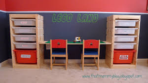 play desk for that mommy blog storage and play table an easy ikea hack