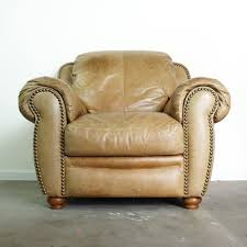 Vintage Leather Club Chair Leather Club Chair With Ottoman Vintage Distressed Brown Leather