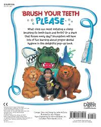 brush your teeth please a pop up book leslie mcguire jean
