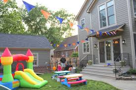 Outdoor Party Decorations by Uncategorized Cheerful Backyard Party Decorations Mixed With