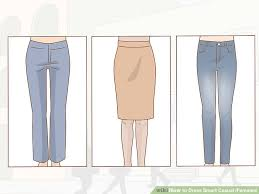 3 ways to dress smart casual females wikihow
