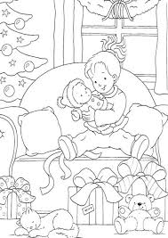 christmas gift coloring christmas coloring pages for kids santa