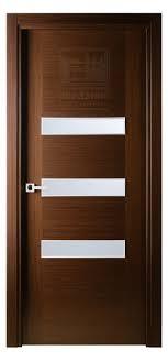 Interior Veneer Doors Antha Gele Interior Door In Italian Wenge Finish Wood