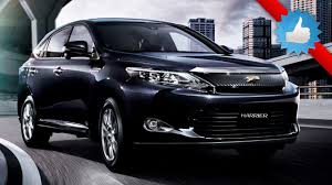 toyota new suv car 2016 toyota harrier mid size suv the 2016 toyota harrier is