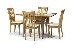 Dining Set With 4 Chairs Julian Bowen Newbury Extending Dining Table Set Maple Colour