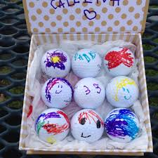 custom golf balls for dad or any golfer recycled let u0027s not