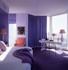bedroom style blue colour idea with curtain white bed and light