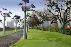 in focus artificial solar trees solarfeeds